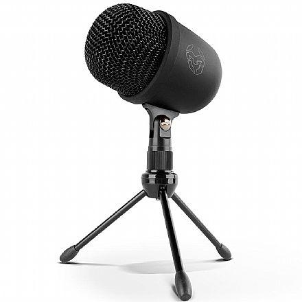 Microfone Condessador Profissional Krom Kimu Pro - USB / Mini USB - com Tripé - para PC, PS4, Smartphones e Tablets - SNXKROMKIMUPRO