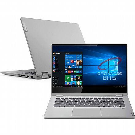 """Notebook Lenovo Ideapad C340 2 em 1 - Tela 14"""" HD Touchscreen, Intel i5 8265U, 12GB, SSD 128GB, Windows 10 - 81RL0004BR"""