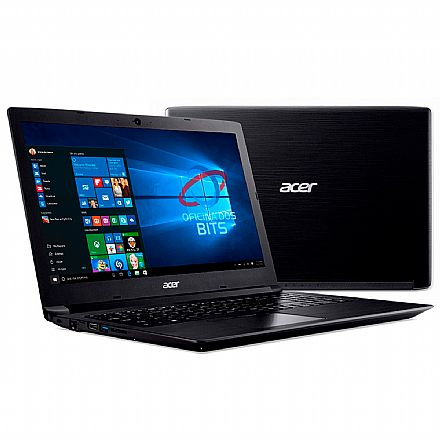 "Notebook Acer Aspire A315-53-52ZZ - Tela 15.6"", Intel i5 7200U, 12GB, SSD 240GB, Windows 10"