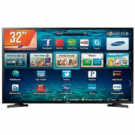 "TV 32"" Samsung LH32BENELGA/ZD - Smart TV - HD - Conversor Digital - Wi-Fi Integrado - HDMI / USB"