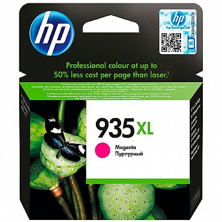 Cartucho HP 935XL Magenta - C2P25AB - Para HP Officejet Pro 6830 / HP Officejet Pro 6230