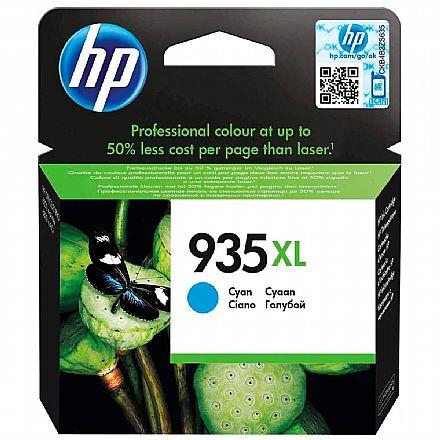 Cartucho HP 935XL Ciano - C2P24AB - Para HP Officejet Pro 6830 / HP Officejet Pro 6230