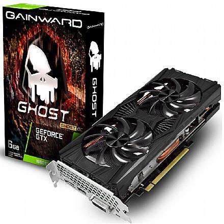 GeForce GTX 1660 SUPER 6GB GDDR6 192bits - Ghost OC - Gainward NE6166S018J9-1160X