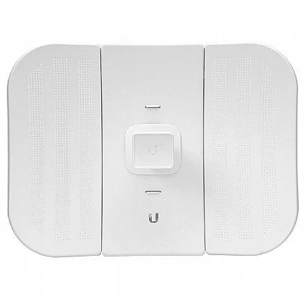 CPE Ubiquiti LiteBeam M5 airMAX - LBE-M5-23 - 5 GHz - Antena 23dBi - Throughput 100Mbps - 1 porta PoE 10/100Mbps - Alcance de até 30km