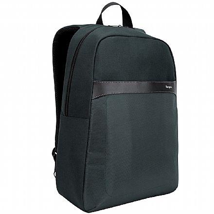 """Mochila Targus GeoLite Essentials Backpack TSB96001DI70 - para Notebooks de até 15.6"""" - Cinza"""