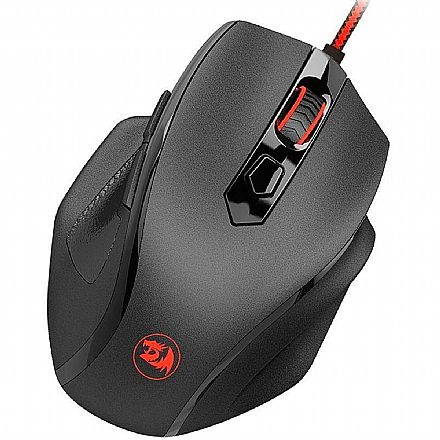 Mouse Gamer Redragon Tiger 2 M709 - 3200dpi - com LED RGB - 6 Botões Programáveis