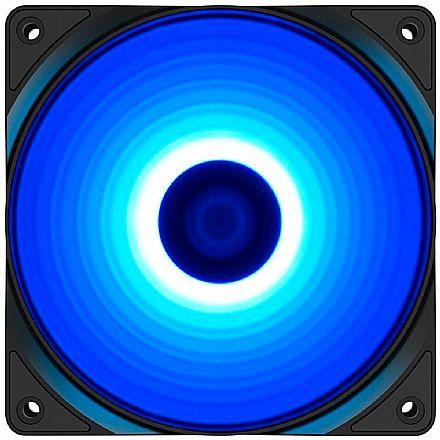 Cooler 120x120mm DeepCool RF120B - LED Azul - DP-FLED-RF120-BL