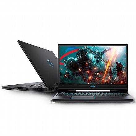 "Notebook Dell Gaming G5-5590-A30P - Tela 15.6"" Full HD IPS, Intel i7 9750H, 16GB, HD 1TB + SSD 256GB, GeForce GTX 1660Ti 6GB, Windows 10 - Preto"