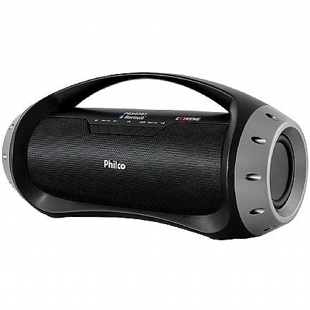 Caixa de Som Portátil Philco PBS40BT Extreme - Bluetooth - 40W RMS - Preta
