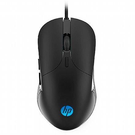 Mouse Gamer HP M280 - 2400DPI - 6 Botões - USB - LED RGB - 7ZZ84AA