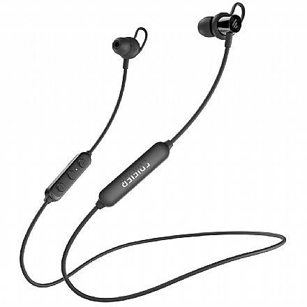 Fone de Ouvido Bluetooth Intra-Auricular Edifier - com Microfone - Resistente à água - Função Magnética - Preto - W200BTSE