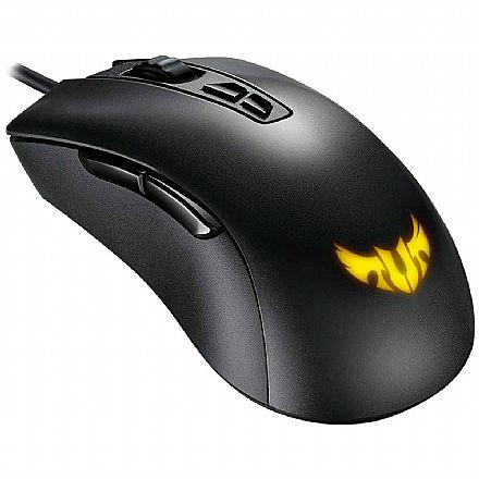 Mouse Gamer ASUS TUF Gaming M3 - 7000dpi - 7 botões - RGB Aura Sync - Preto - 90MP01J0-B0UA00
