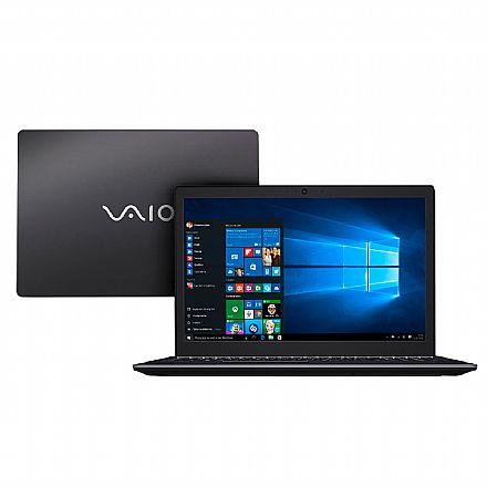 """Notebook Vaio Fit 15s VJF155F11X-B0311B - Tela 15.6"""", Intel i7 7500U, 8GB, HD 1TB + SSD 240GB, Windows 10"""