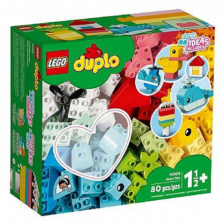 LEGO Duplo - Caixa Coração - 10909