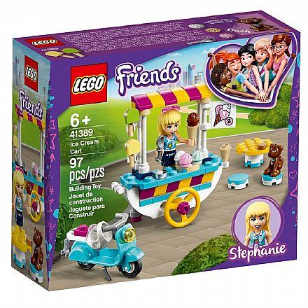 LEGO Friends - Carrinho de Sorvetes - 41389
