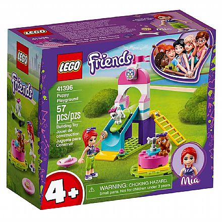LEGO Friends - Playground para Cachorrinhos - Mia - 41396