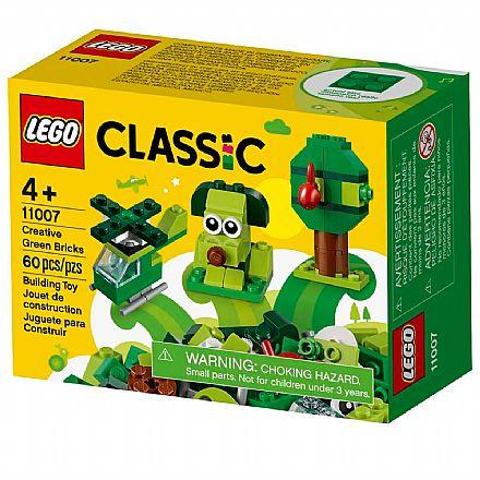 LEGO Classic - Peças Verdes Criativas - 11007