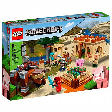 LEGO Minecraft - O Ataque de Illager - 21160