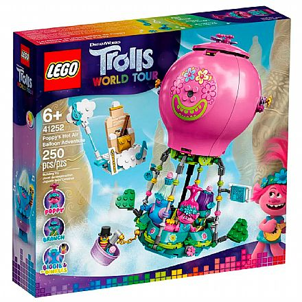 LEGO Trolls - World Tour - A Aventura no Balão de Poppy - 41252