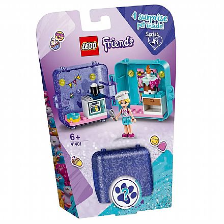 LEGO Friends - Cubo de Brincar da Stephanie - 41401