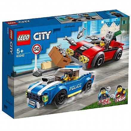 LEGO City - Detenção Policial na Autoestrada - 60242