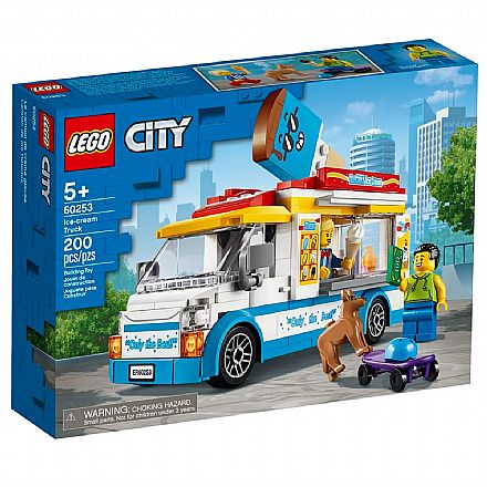 LEGO City - Van de Sorvetes - 60253