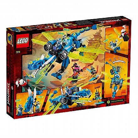 LEGO Ninjago - O Ciber dragao do Jay - 71711