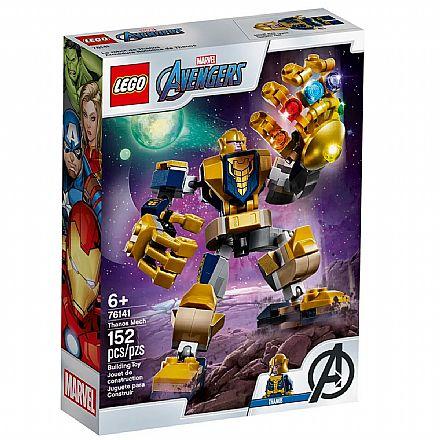 LEGO Super Heroes - Disney - Marvel - Avengers - Robô Thanos - 76141