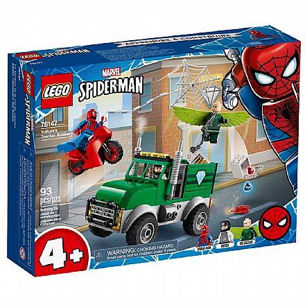 LEGO Super Heroes - Disney - Marvel - Homem Aranha - O Assalto ao Caminhoneiro de Vulture - 76147