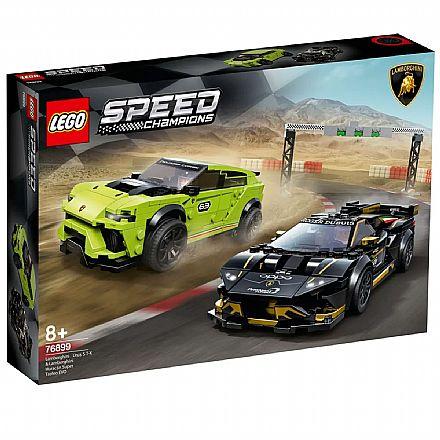LEGO Speed Champions - Lamborghini Urus ST-X & Lamborghini Huracán Super Trofeo EVO - 76899
