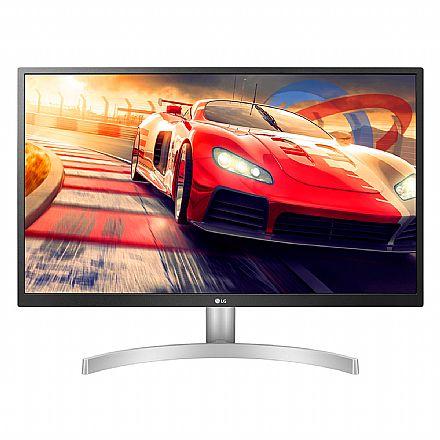 """Monitor 27"""" LG 27UL500-W - IPS Ultra HD 4K 3840 x 2160 - HDR10 - FreeSync - HDMI/Displayport"""