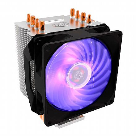 Cooler Master Hyper H410 - (AMD / Intel) - LED RGB - RR-H410-20PC-R1