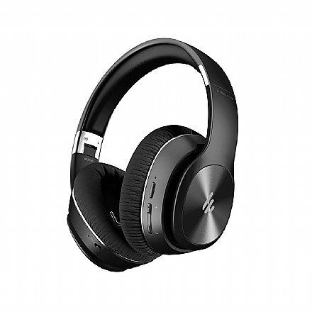 Fone de Ouvido Bluetooth Edifier W828NB-BK - com Cancelamento de Ruído Ativo (ANC) - Conector P2 - Preto