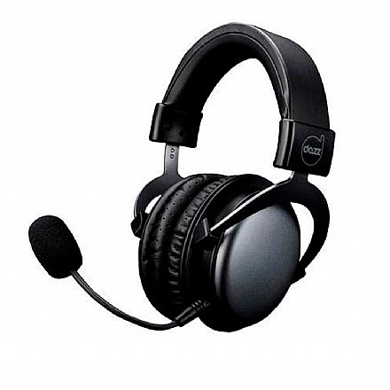 Headset Gamer Dazz Viper Black 2.0 - conexão P3 3.5mm - Preto - 62000013