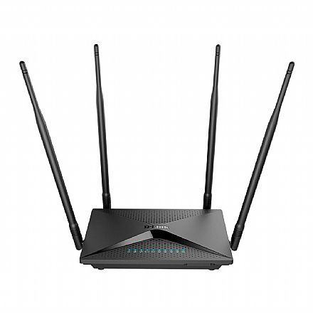 Roteador Wi-Fi D-Link DIR-853 AC1300 - Gigabit - 1300 Mbps - Tecnologia MU-MIMO - 4 Antenas de 7dBi