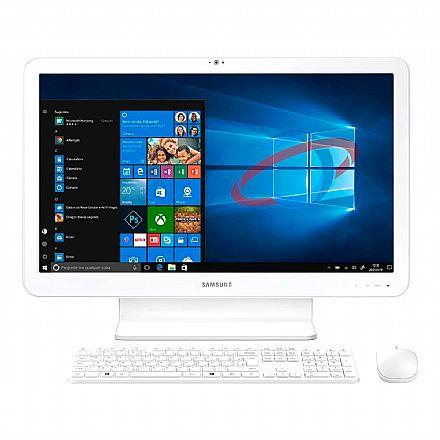 "Computador All In One Samsung E5 - Tela 21.5"" Full HD, Intel i5 7200U, 8GB, HD 1TB, Teclado e Mouse Sem Fio, Windows 10 - DP500A2M-KW7BR"