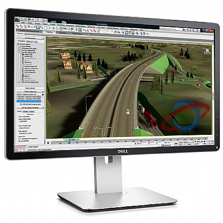 """Monitor 23.8"""" Dell P2415Q Professional - 4K UltraHD - Ajuste de inclinação e rotação - Furação VESA - Outlet - Garantia 90 dias"""