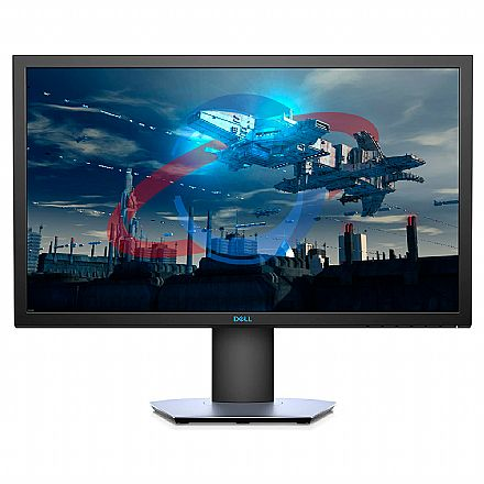 "Monitor 24"" Dell Gamer S2419HGF - Full HD - 1ms - FreeSync - 144Hz - Furação VESA - Outlet - Garantia 90 dias"