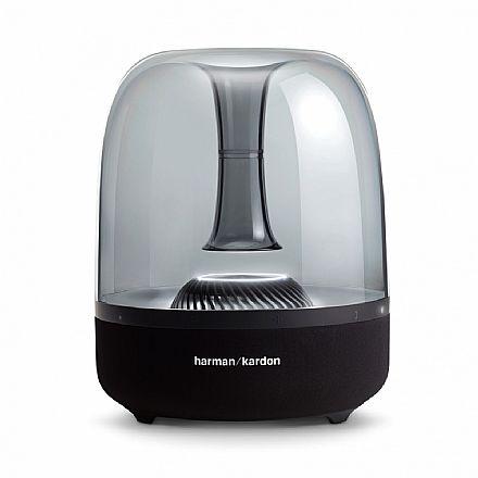 Caixa de Som Portátil Harman Kardon Aura Studio 2 - Bluetooth - Iluminação de Ambiente