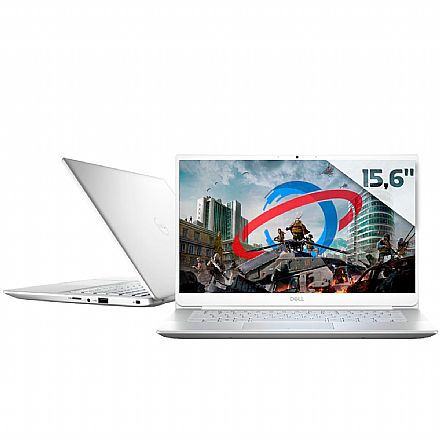 "Notebook Dell Inspiron i14-5490-M30S Ultrafino - Tela 14"" Infinita Full HD, Intel i7-10510U, 16GB, SSD 256GB, GeForce MX230, Windows 10 - Prata - Outlet - Garantia 1 ano"