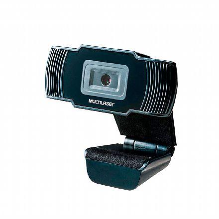 Web Câmera Multilaser Office AC339 - Video Chamada em HD 720p - com Microfone
