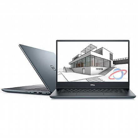 "Notebook Dell Vostro 5490 - Tela 14"" Full HD, Intel i7 10510U, 16GB, SSD 256GB, GeForce® MX230, Windows 10 Pro, Leitor de digital - Outlet"