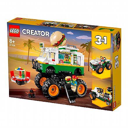 LEGO Creator - Caminhão Gigante de Hambúrguer - 31104