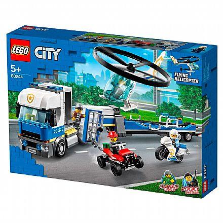 LEGO City - Transporte de Helicóptero da Policia - 60244