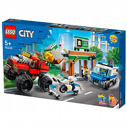 LEGO City - Polícia Monster Truck Heist - 60245