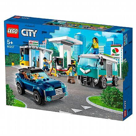 LEGO City - Posto de Gasolina - 60257