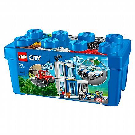 LEGO City - Caixa de Peças da Policia - 60270