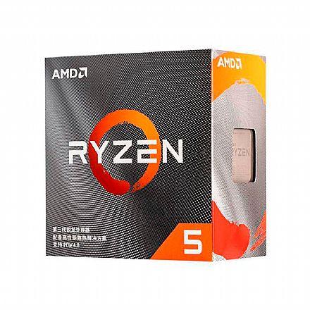 AMD Ryzen 5 3500X Hexa Core - 6 Threads - 3.6GHz (Turbo 4.1GHz) - Cache 35MB - AM4 - TDP 65W - 100-100000158BOX