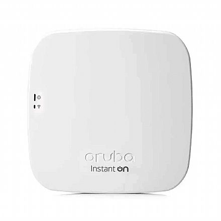 Access Point HPE Aruba Instant On AP11 RW 2x2 - R2W96A - Dual Band 2.4 GHz e 5 GHz - 867Mbps - Gigabit - PoE - Montável em teto ou parede