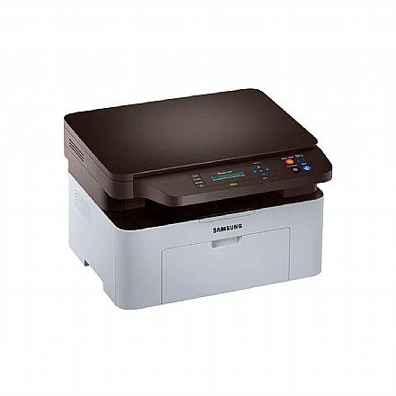 Multifuncional Laser Samsung SL-M2070 - USB - Impressora, Copiadora, Scanner - Open Box